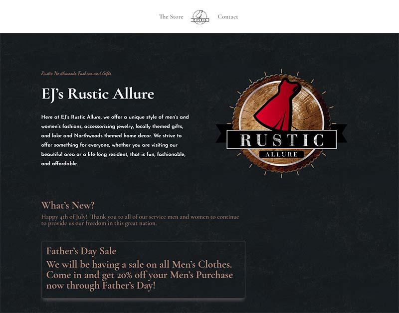 EJ's Rustic Allure